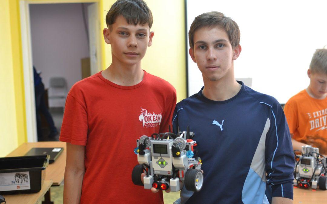 Зауральские школьники осваивают робототехнику
