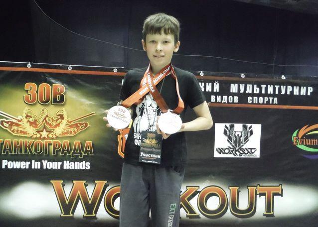 Сафакулевский воркаутер поборетcя за победу на окружных соревнованиях