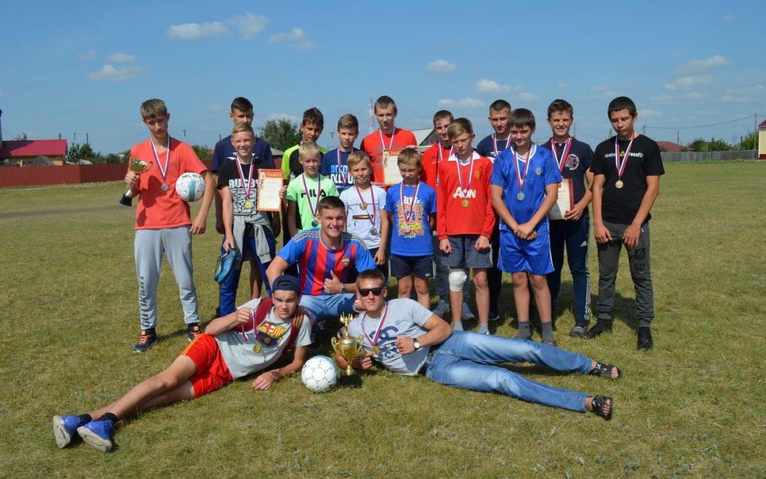 В Белозерском районе прошел чемпионат по дворовому футболу