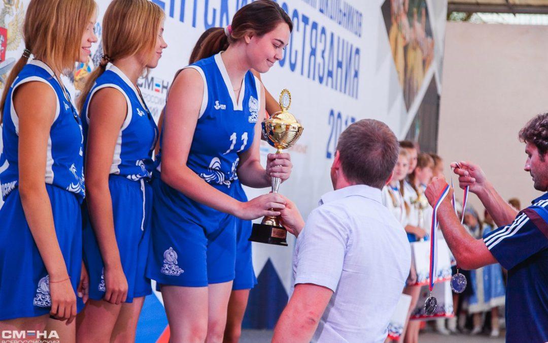 Юные баскетболистки из Кургана стали призёрами Президентских состязаний школьников