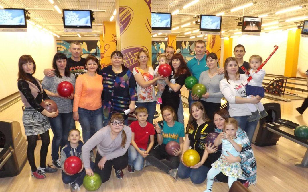 Лебяжьевский клуб молодых семей отметил день рождения