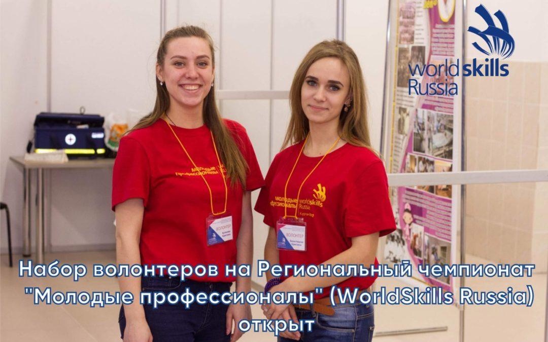 Стань волонтером чемпионата WorldSkills!