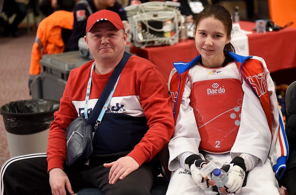 Зауральская тхэквондистка попала в пятерку сильнейших спортсменов Европы