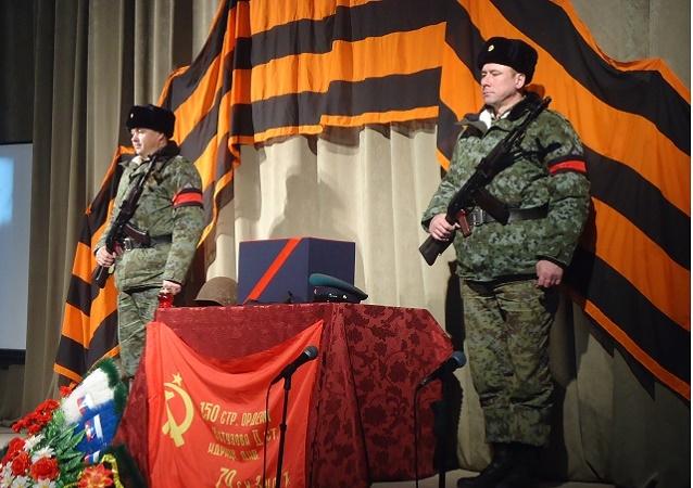В Притобольном районе захоронили останки земляка-красноармейца