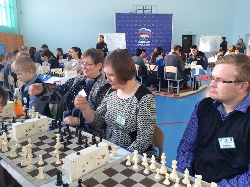 Зауральские семьи «сразились» на шахматном фестивале