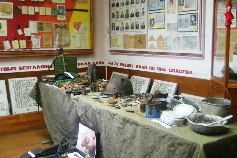 Щучанские поисковики организовали выставку