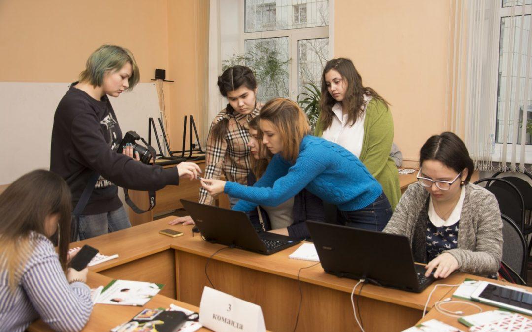 Молодые журналисты сыграли в деловую игру «4 власть»