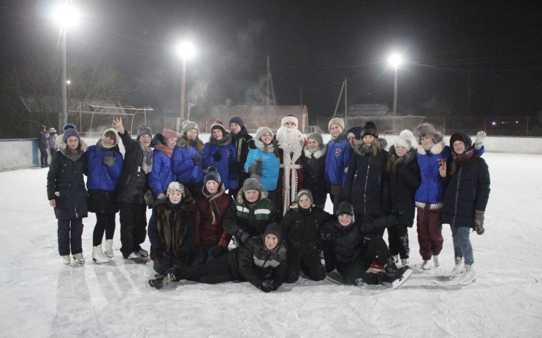Молодежь Лебяжьевского района отметила новогодние праздники