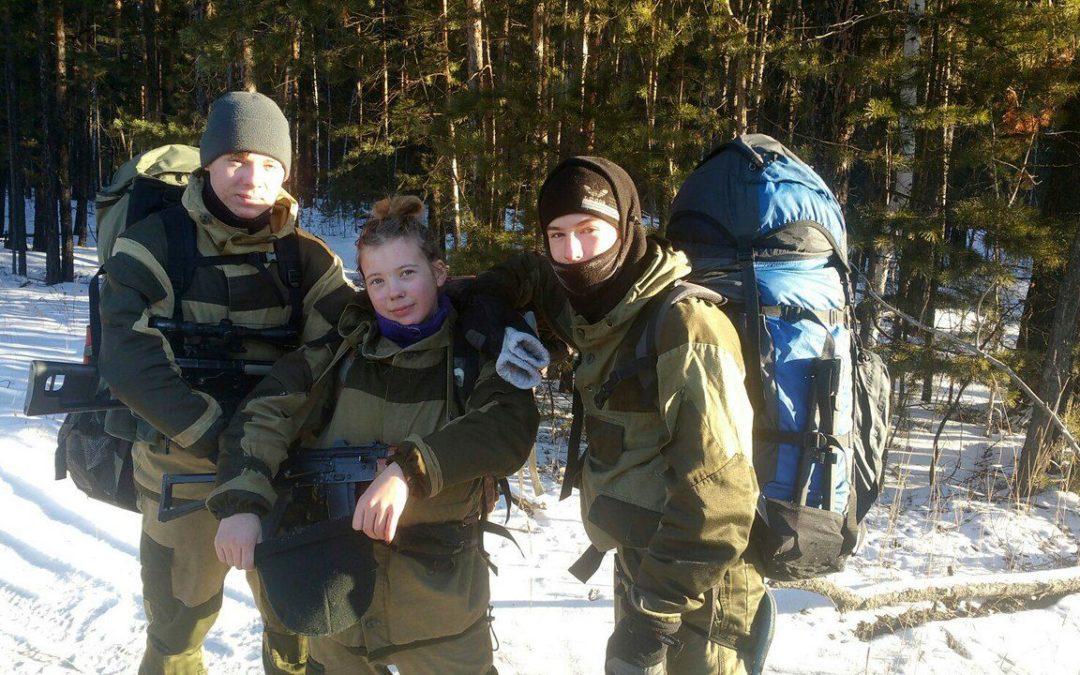 Юные разведчики готовятся к службе в армии