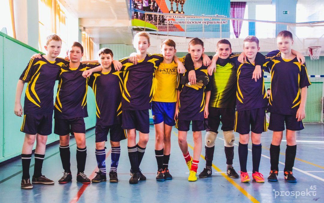 Кетовские школьники отправятся на первенство России по мини-футболу