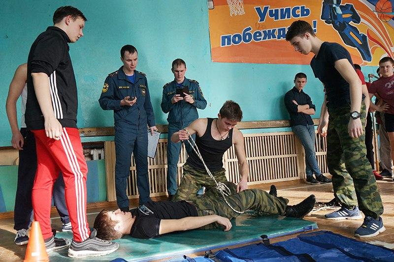 Сотрудники МЧС России организовали турнир для школьников