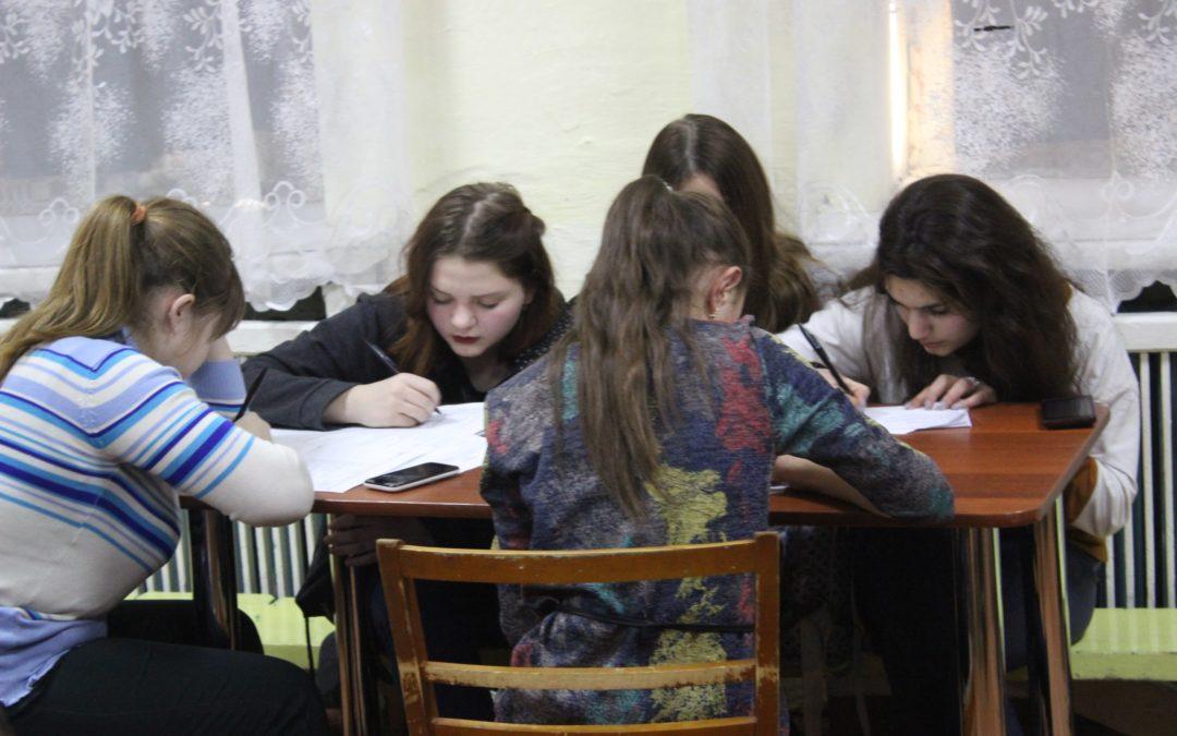 Молодежь Лебяжья учится писать проекты