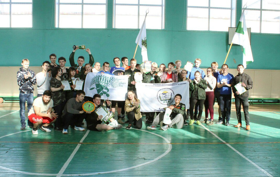 Определились победители областной спартакиады студенческих отрядов