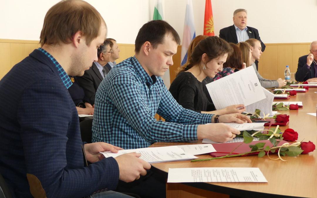 Молодежная палата Далматовского района начала свою работу