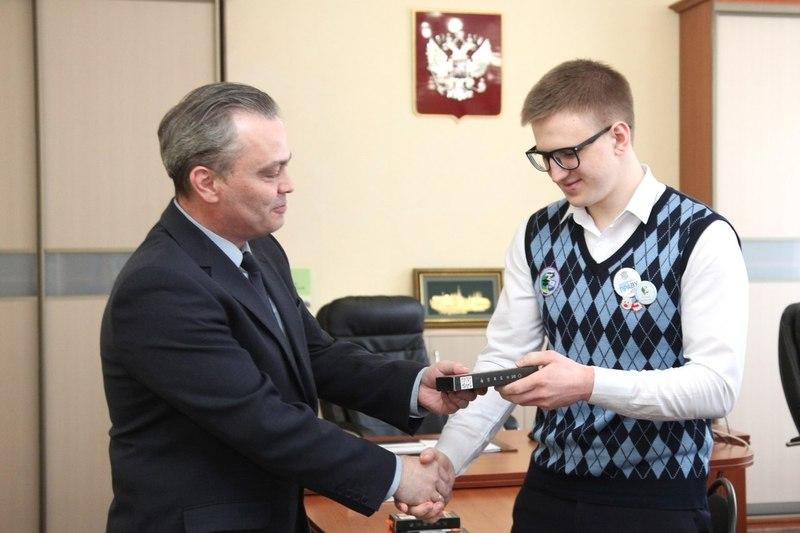 В Зауралье наградили победителей всероссийской олимпиады школьников
