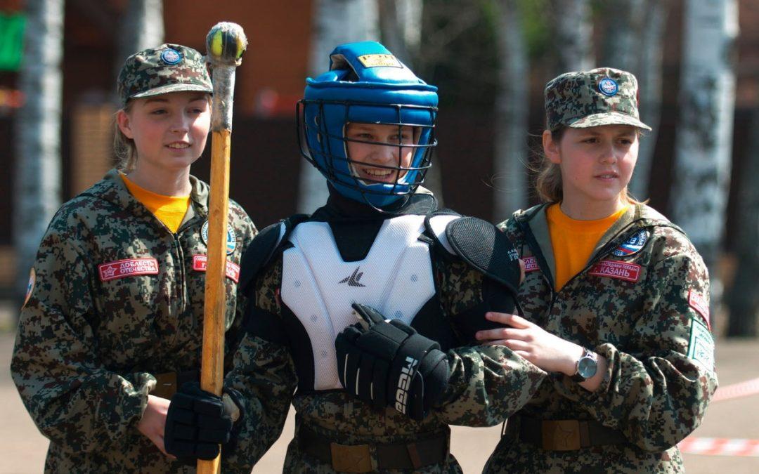Юные кадеты из Зауралья побывали на Всероссийском сборе