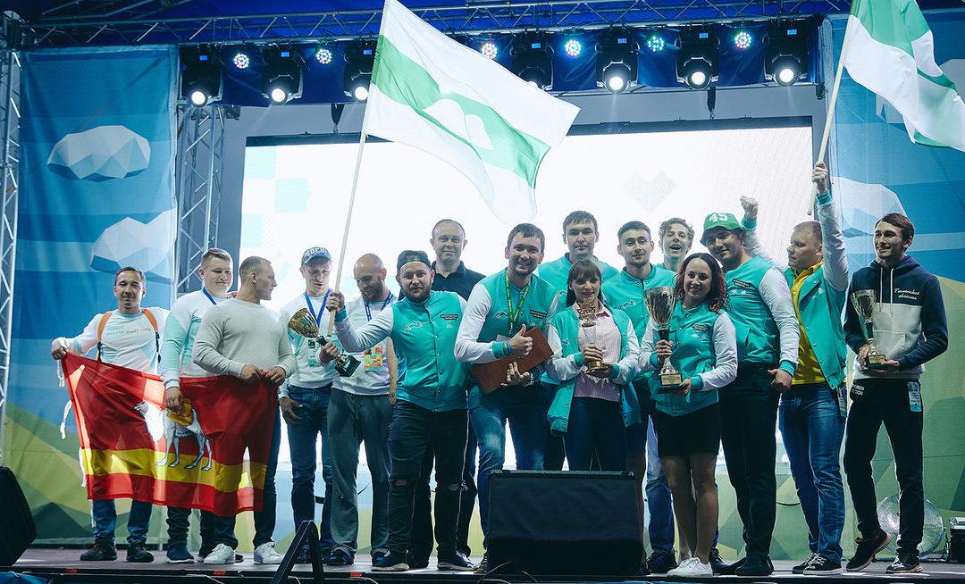 Зауральцы стали победителями Спартакиады форума «УТРО»