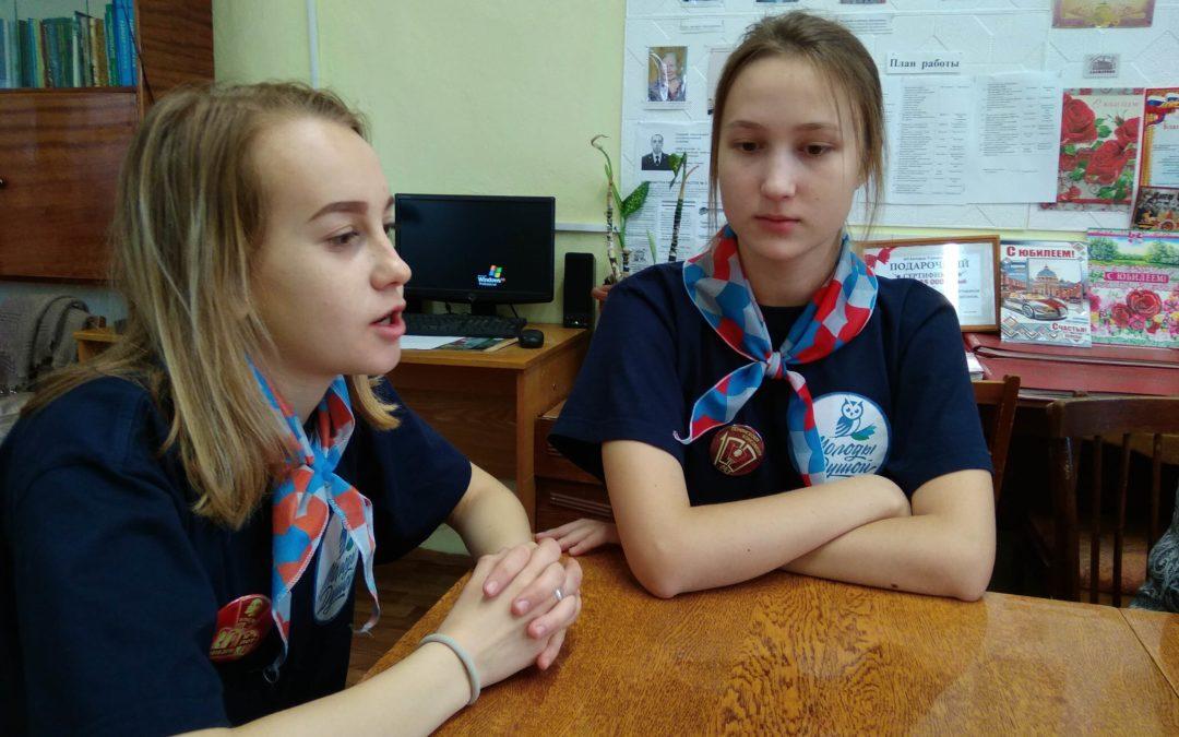Далматовская молодежь и серебряные волонтеры объединились