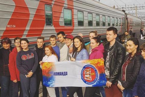 Спортсмены КГУ отправились на всероссийский фестиваль