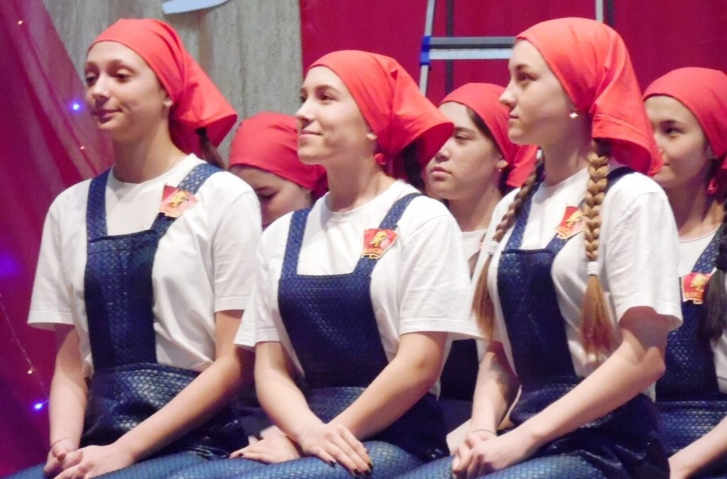 «Любовь. Комсомол. Весна»: далматовцы состязались в творчестве