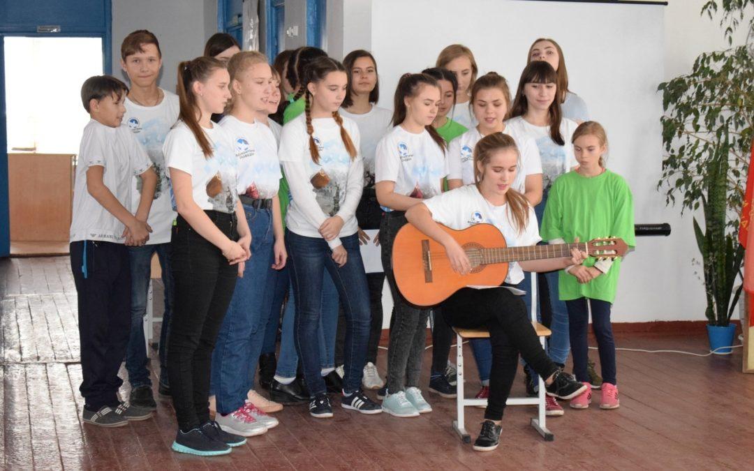 Петуховские добровольцы вспоминают комсомол