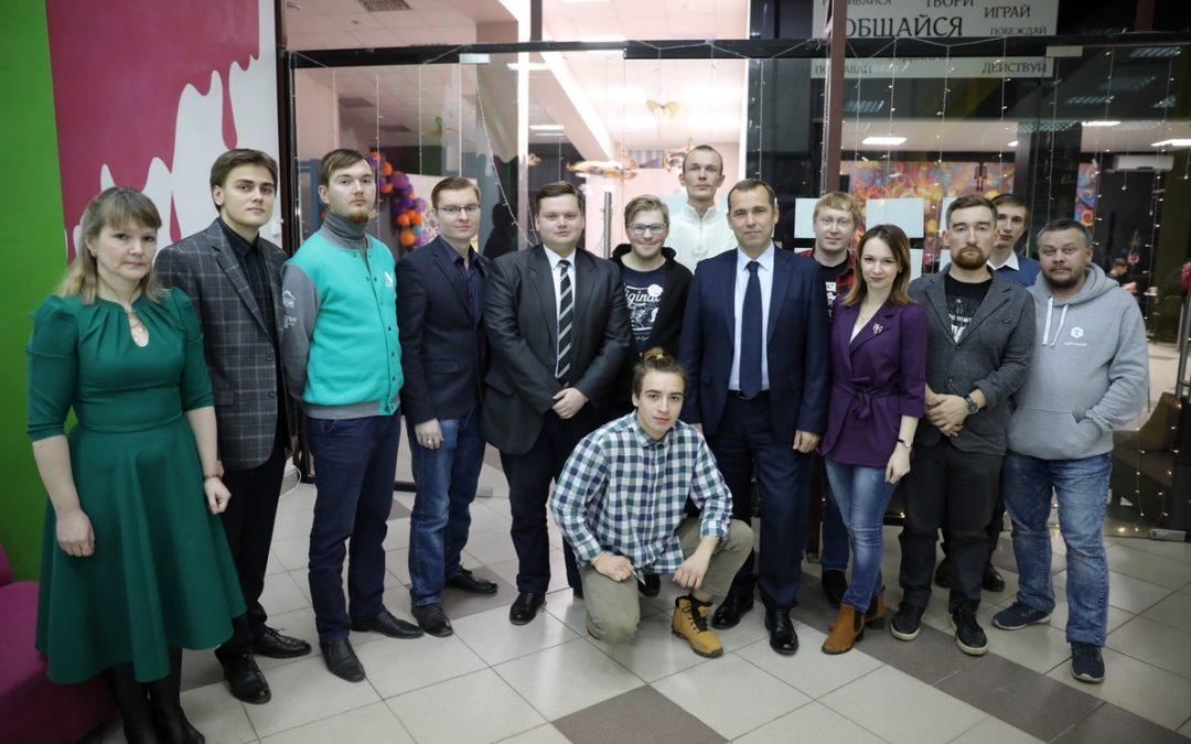 Врио Губернатора Вадим Шумков встретился с блогерами