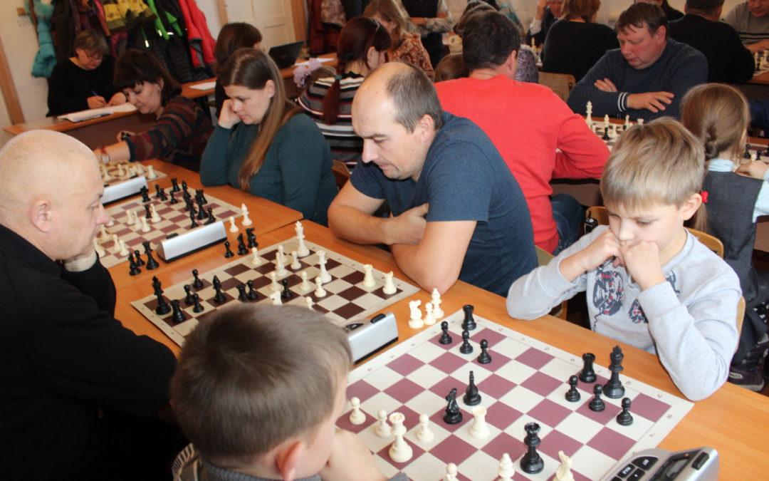 В Кетовском районе определили лучшие «шахматные» семьи