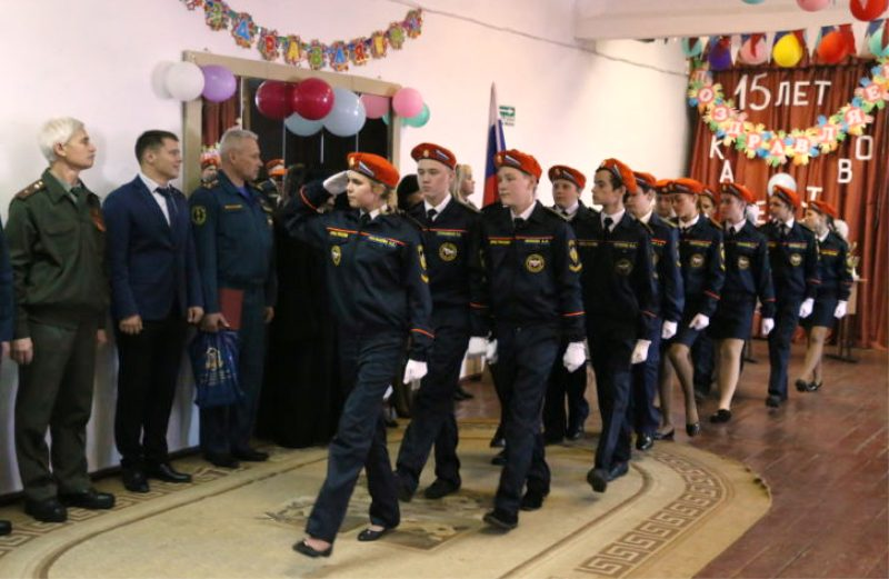 В Кетовском районе прошло посвящение в кадеты