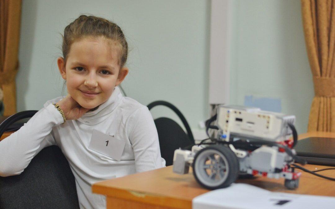 «Первый старт» совершили юные робототехники