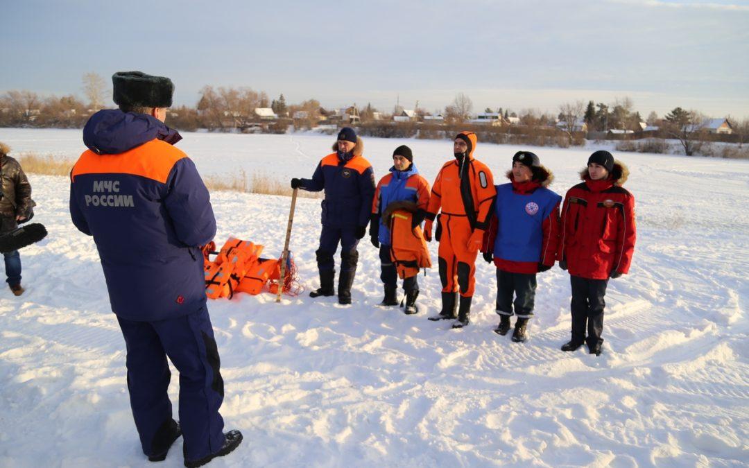 Студенты-спасатели за «Безопасный лед»