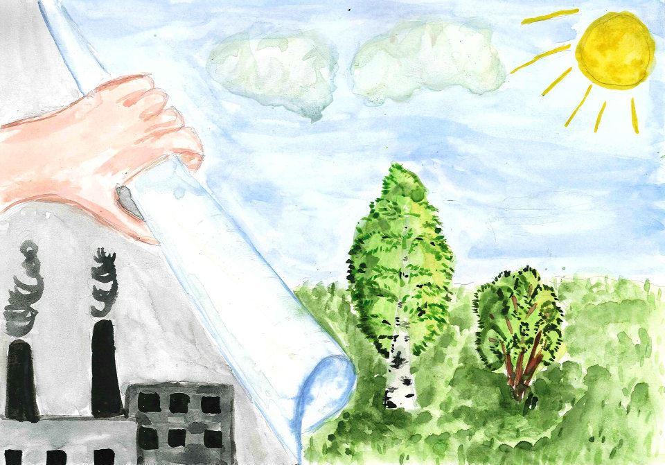экологический постер рисунок для продажи медицинской