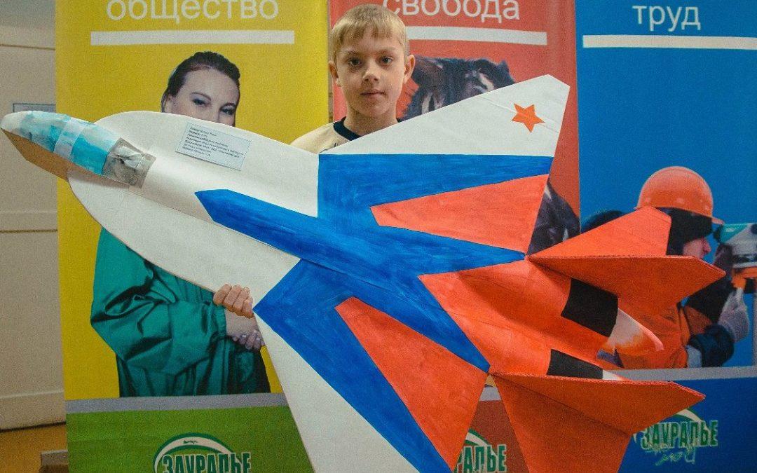 Школьники представят военно-технические модели
