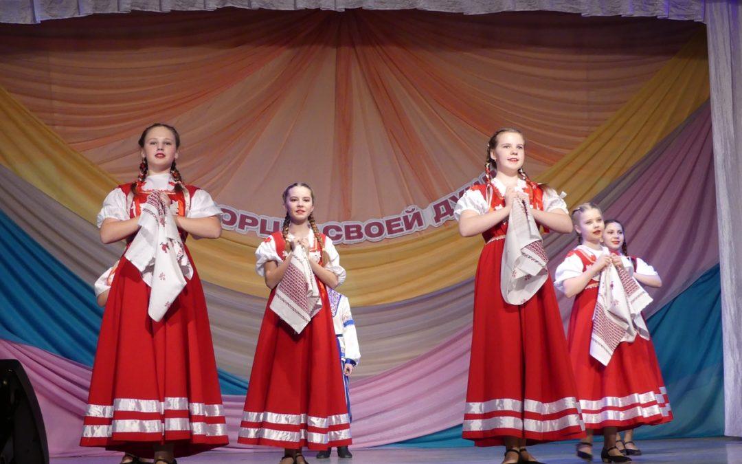 Далматовские танцоры представили лучшие хореографические номера