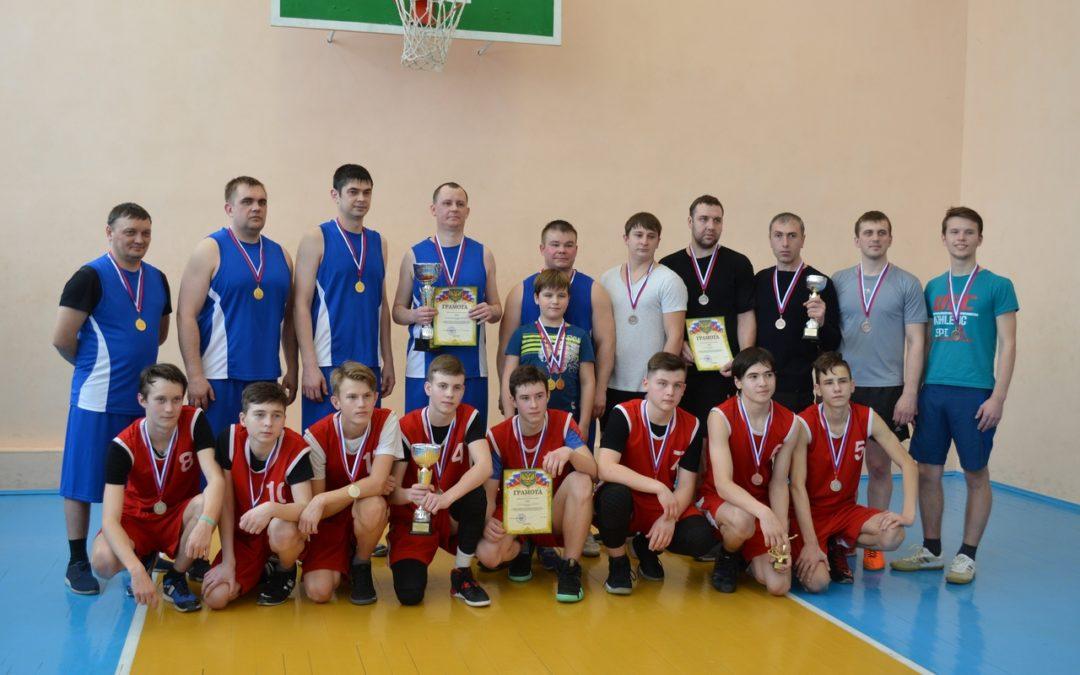 Белозерские баскетболисты встретились на соревнованиях