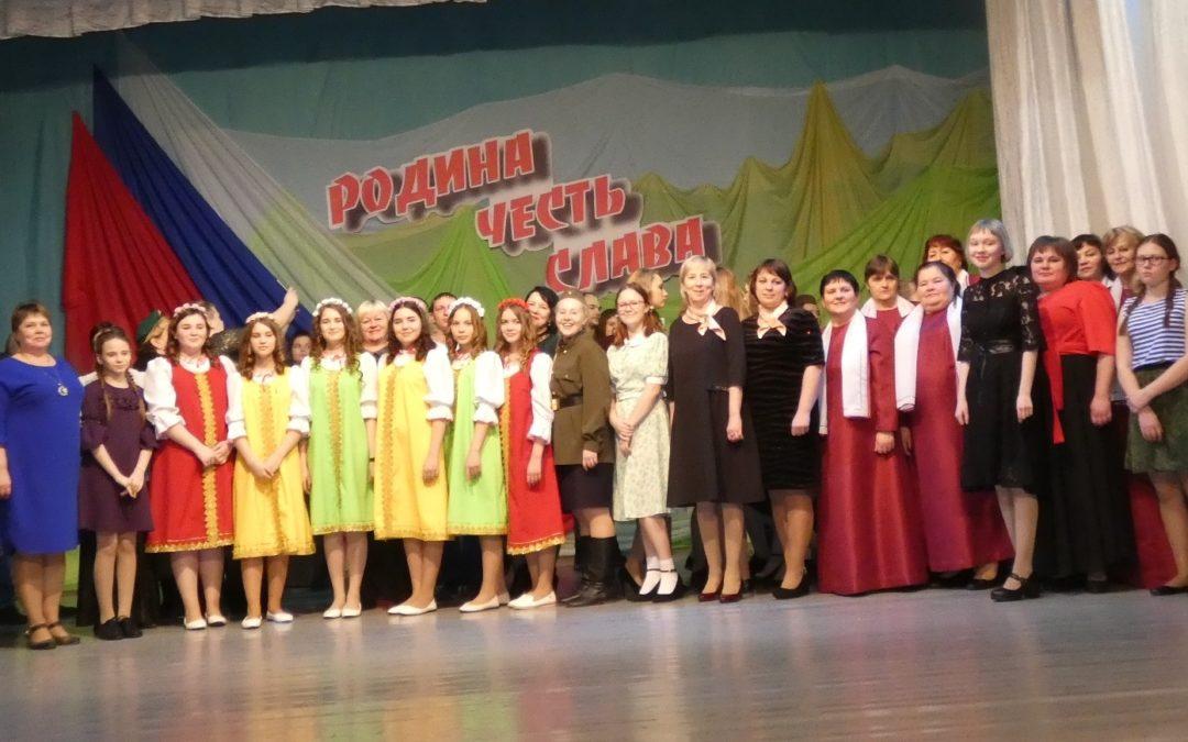 Далматовские исполнители соревновались на творческом конкурсе
