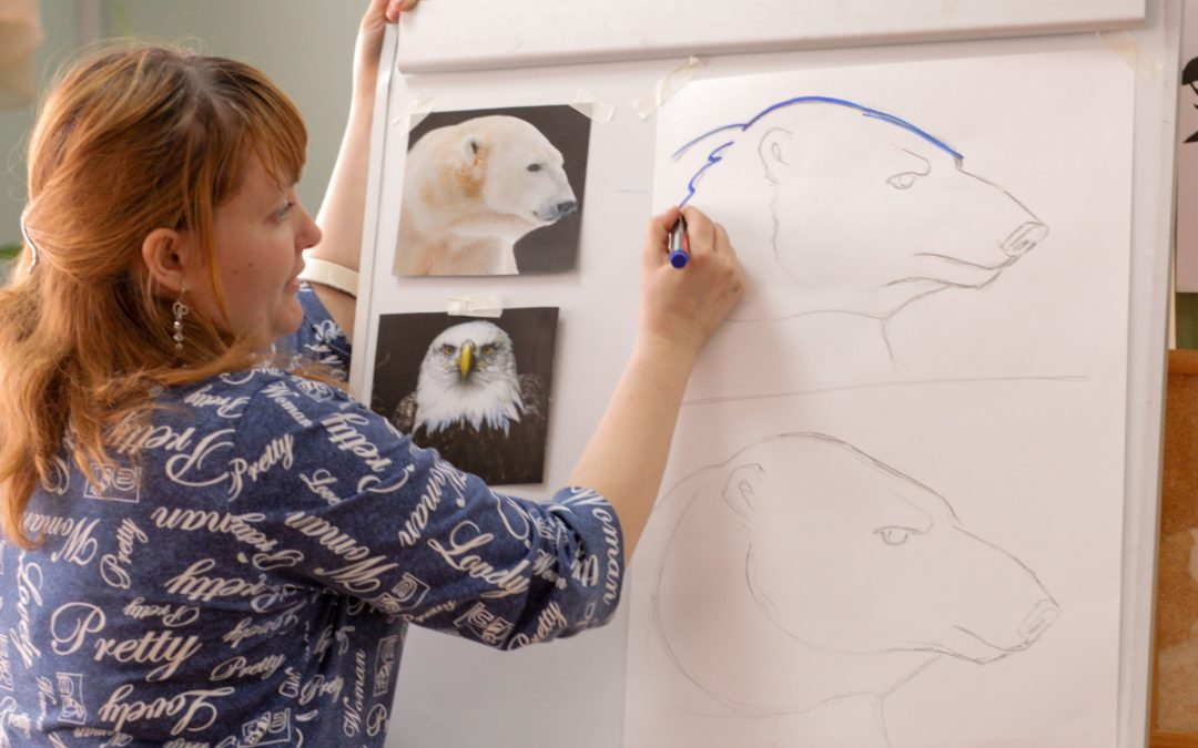Зауральские педагоги посетили мастер-классы по живописи