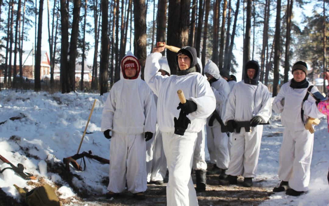 Кетовские юнармейцы встретились на «Зарнице»