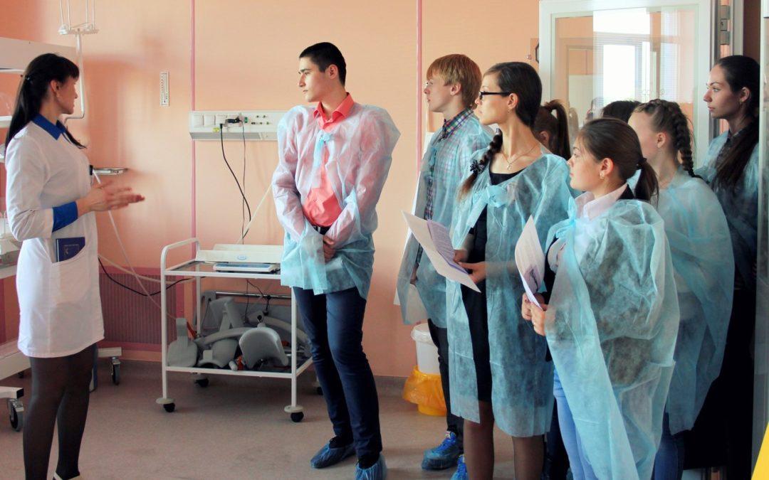 Будущих медиков приглашают на экскурсии
