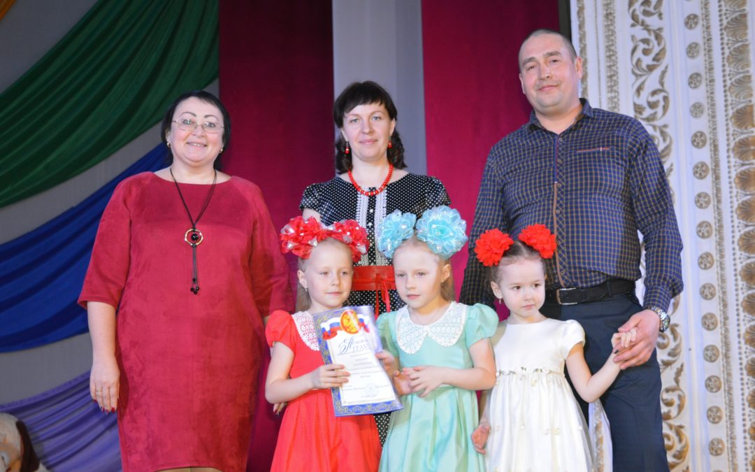 Катайские молодые семьи встретились на юбилее клуба