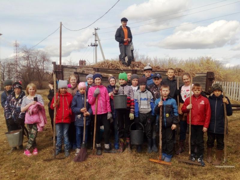Школьники присоединились к экологической акции