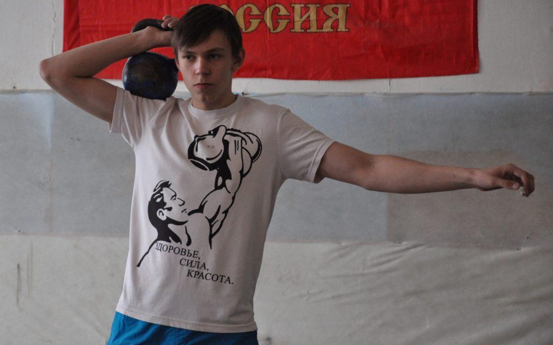 Лебяжьевские гиревики боролись за первенство района