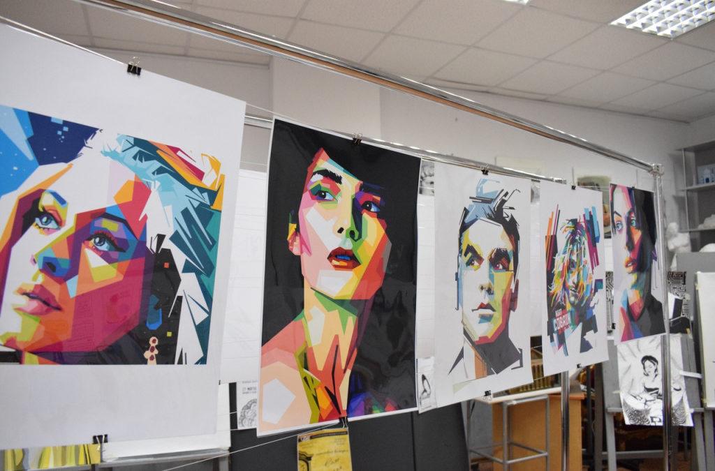 Студенты-дизайнеры КГУ творят в стиле WOW-арт