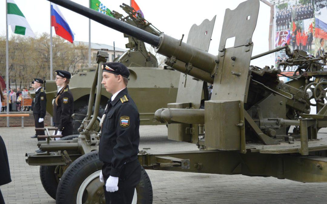 В Катайском районе открыли патриотический центр
