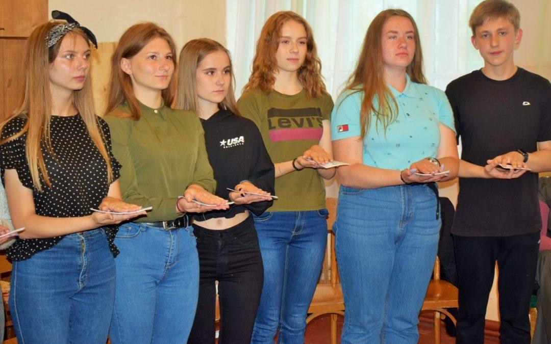 В Петуховском районе вручили волонтерские книжки
