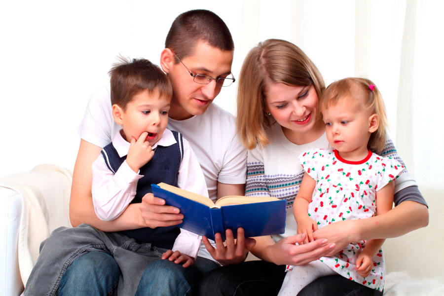 Стань участником Дня семейного чтения