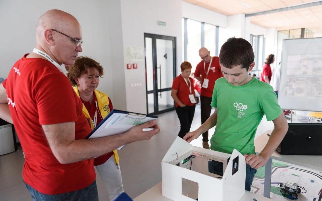 Зауральский школьник стал лучшим робототехником России