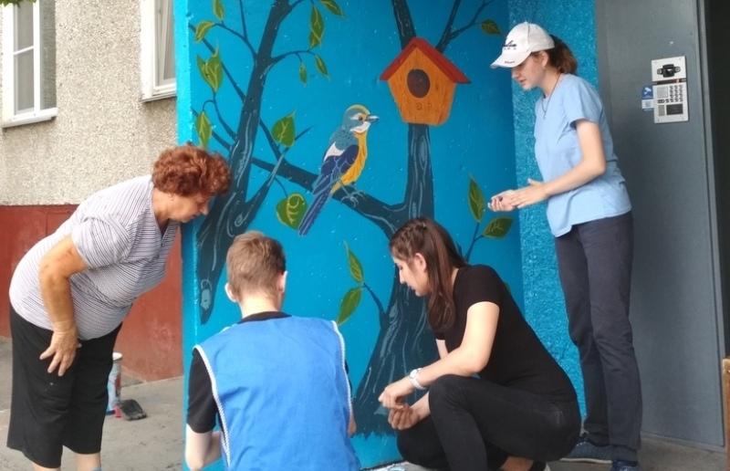 «Наш Заозерный» реализует проект по улучшению городской среды