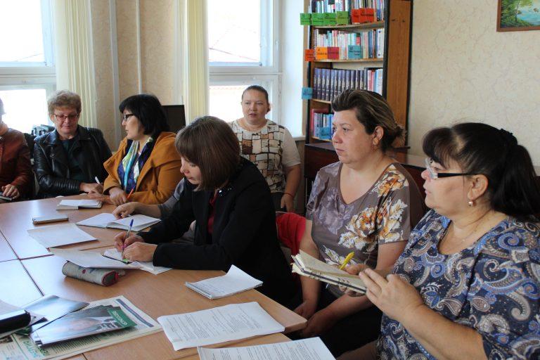 «Кадровый клуб» снова объединил лебяжьевских педагогов