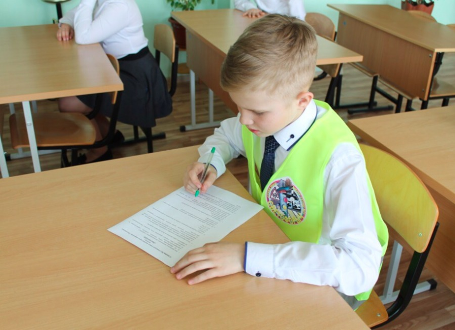 Школьники Зауралья примут участие в тестировании по ПДД