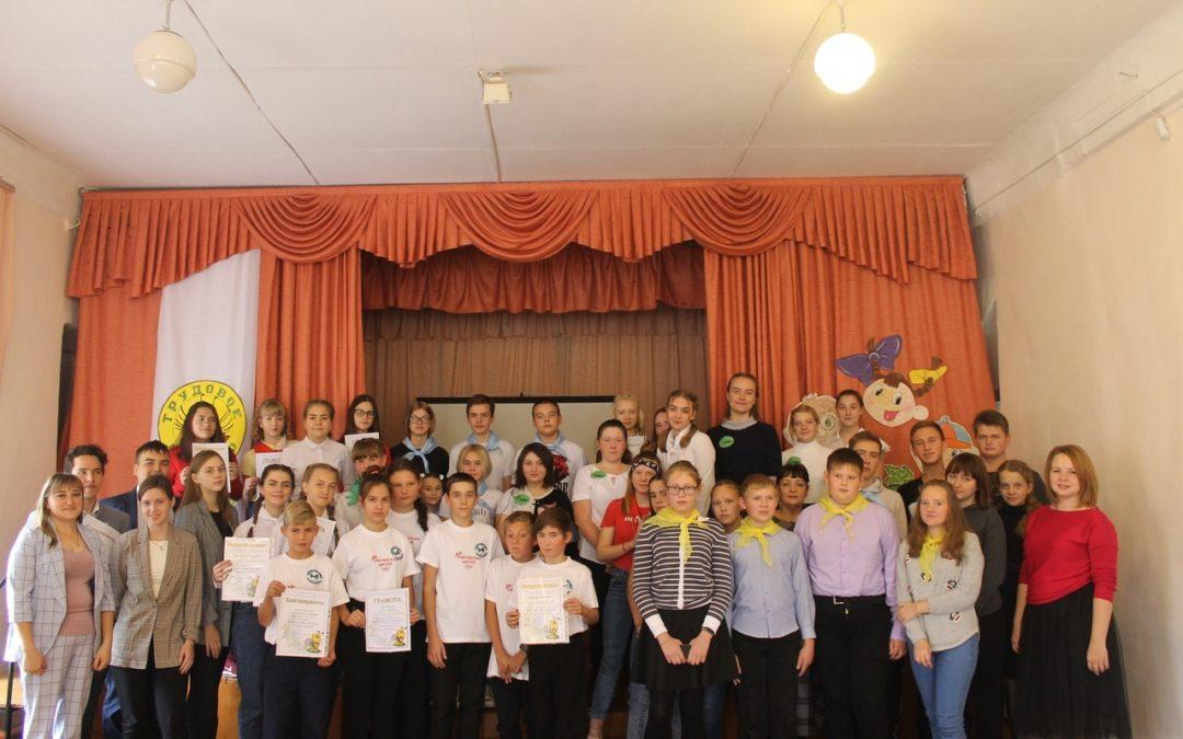 Школьники Далматово подвели итоги трудового лета